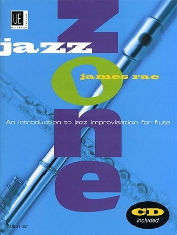 Jazz Zone: Flute: Book & CD (Rae)