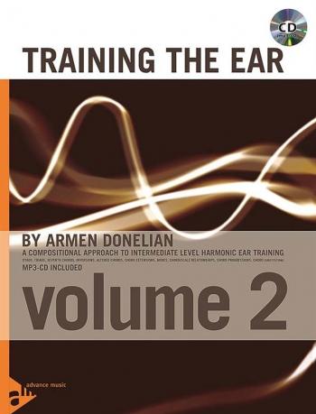 Training The Ear Vol 2:  Aural Training: Book & 2 Cd (Advance)