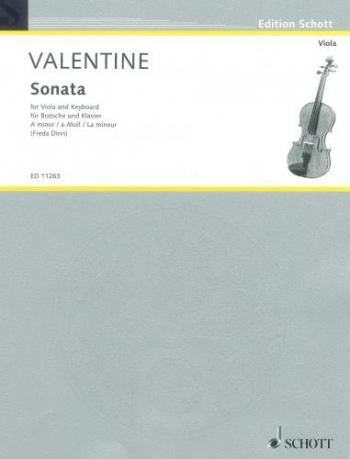Sonata: Op9 A Min: Viola and Piano