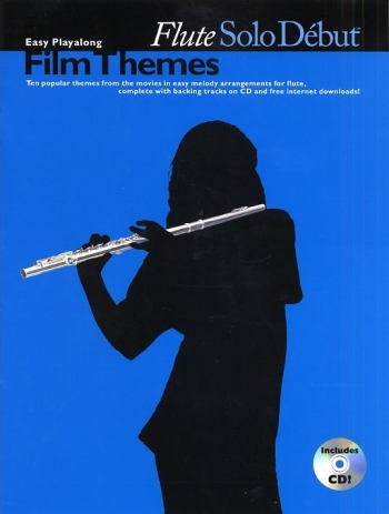 Solo Debut: Film Themes: Flute: Book & Cd
