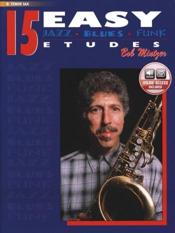 15 Easy Jazz Studies In Jazz And Blues Etudes: Tenor Sax