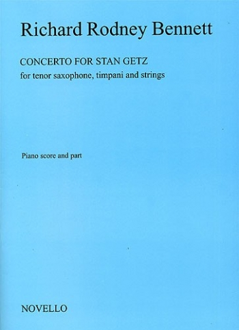 Concerto For Stan Getz: Tenor Saxophone