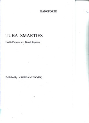 Tuba Smarties Solo For Treble Clef Eb & Bass Clef Eb Tuba