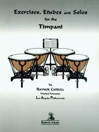 Exercises Etudes And Solos: Timpani