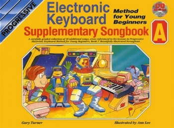 Progressive Keyboard Method Young Beginners Supplementary Songbook A: Book & CD