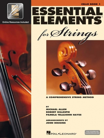 Essential Elements 2000: Book 1: Cello: Book & Audio