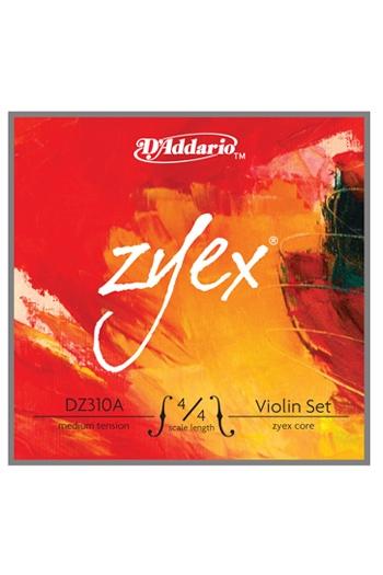 Zyex Violin String Set Medium Tension