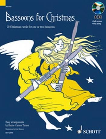 Bassoons For Christmas: 20 Christmas Carols: Book & Cd (Schott)