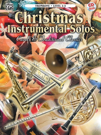 Christmas Instrumental Solos: Trombone: Book & CD
