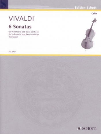 6 Sonatas: Cello & Piano (Schott)