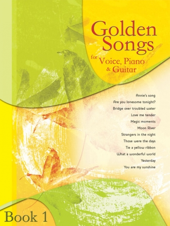 Golden Songs: voice Piano and Guitar: Book 1
