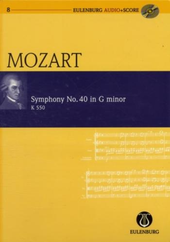 Symphony No.40: G Minor: Miniature Score  (Audio Series No 8)
