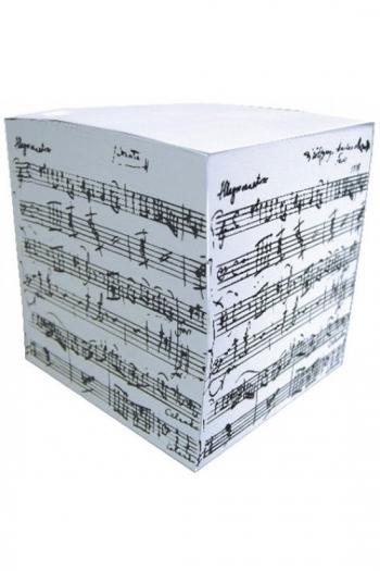 Telephone Cube - Notepad (Manuscript Design)