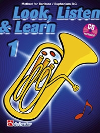 Look Listen & Learn 1 Euphonium & Baritone Bass Clef: Book & Cd (sparke)
