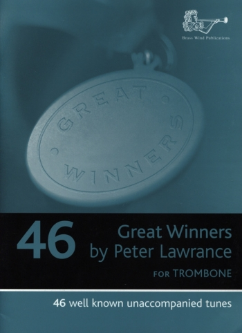 Great Winners: Trombone Bass Clef: Book Only (lawrance)