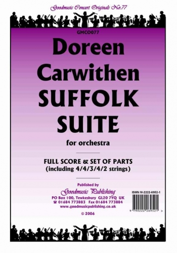 Orch: Carwithen: Suffolk Suite: Orchestra: Scandpts