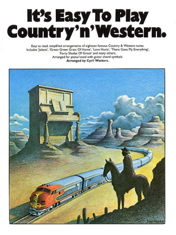 Its Easy To Play Country N Western: Piano Vocal Guitar
