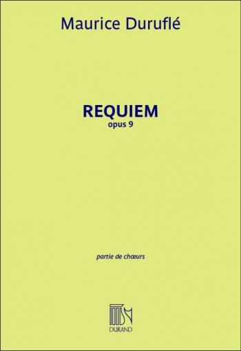 Requiem: Chorus Score: Satb (Durand)