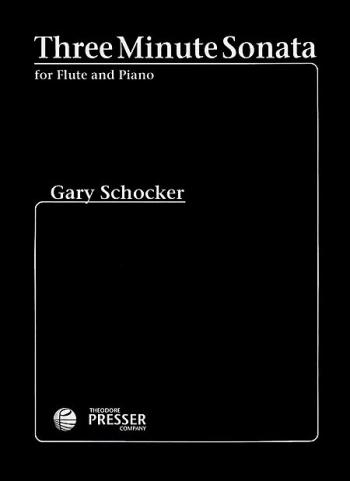 Three Minute Sonata: Flute & Piano (Presser)