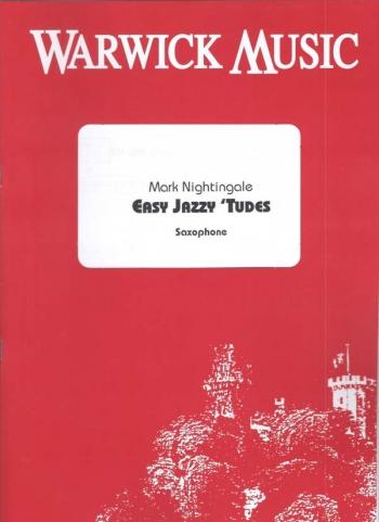 Easy Jazzy Tudes: Alto Or Tenor Book & CD (nightingale)