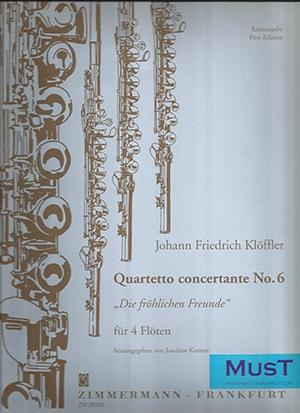 Quartetto Concertante: 6: Flute Quartet