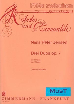 Rokoko Und Romantik: 3 Duos: Flutes