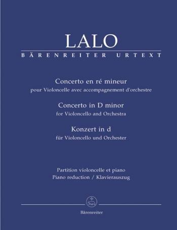 Concerto: D Minor: Cello & Piano (Barenreiter)