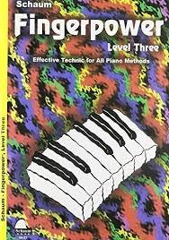 Schaum: Fingerpower: 3: Piano