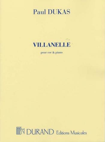Villanelle: Horn & Piano  (durand)