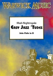 Easy Jazzy Tudes: Solo Flute Book & Cd (nightingale)