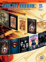 Great Movie Instrumental Solos: Alto Sax: Book & CD