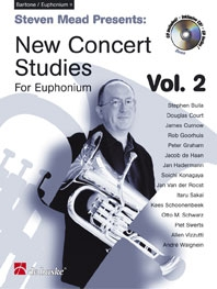 New Concert Studies 2: Euphonium: Treble Clef: Book & Cd