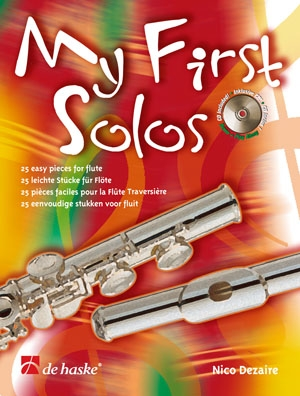 My First Solos: Flute: Book & CD