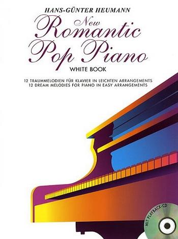 New Romantic Pop Piano: white Book