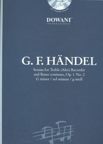 Sonata: G Minor: Op1 No2: Treble Recorder (Dowani)