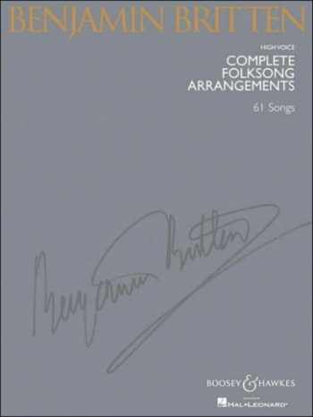 Complete Folksongs: 61 Songs: High Voice: Vocal Album
