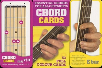 Chord Cards: 52 Full Colour Cards