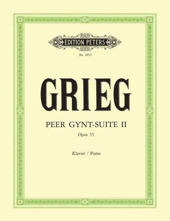 Peer Gynt Suite: Vol.2: Op.56: Piano (Peters)