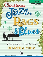 Christmas Jazz Rags & Blues Book 3 Piano (mier)