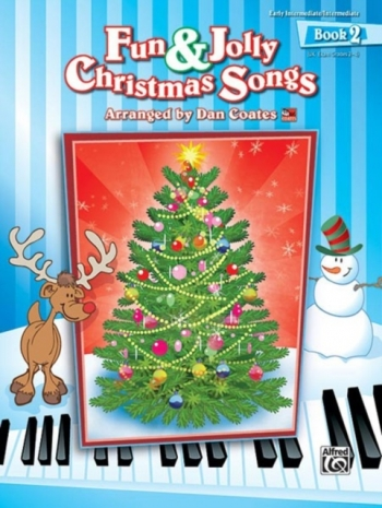 Alfred Fun & Jolly Christmas Songs: Vol 2: Gr 2-4: Piano