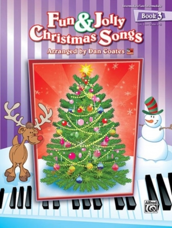Alfreds Fun And Jolly Christmas Songs: Vol.3: Grade 3-5: Piano
