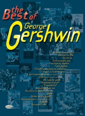 Best Of George Gershwin: Piano Vocal Guitar