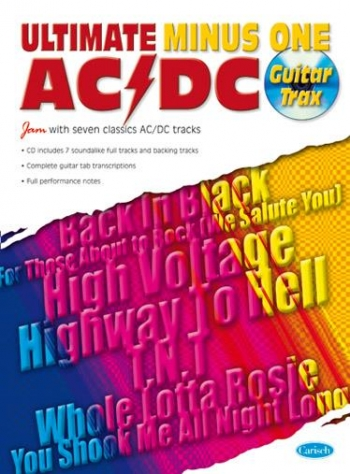 Ultimate Minus One: AC/DC: Guitar Tab: Book And Cd