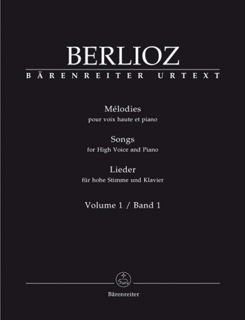 Songs: High Voice and Piano: Vol1  (Barenreiter)