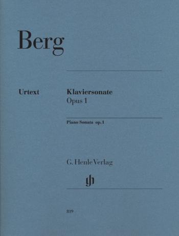Piano Sonata Op 1: Piano (Henle)