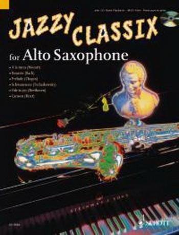 Jazzy Classix: Alto Saxophone Book & CD