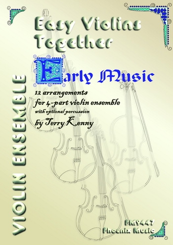 Easy Violins Together - Early Music  4  Parts