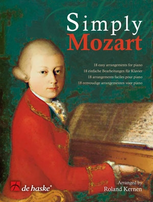 Simply Mozart: 18 Easy Arrangements: Piano