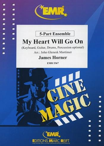 My Heart Will Go On- 5 Part Mixed -ensemble -scandpts (horner/Mortimer)