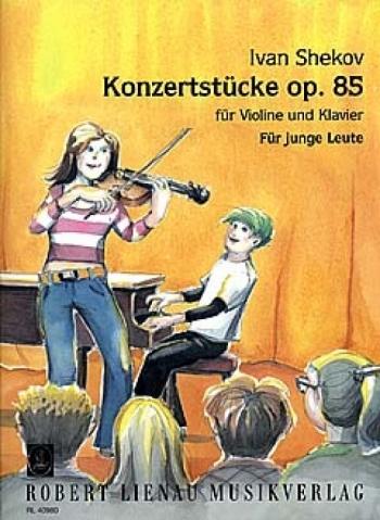 Concerto Op 8: Violin and Piano